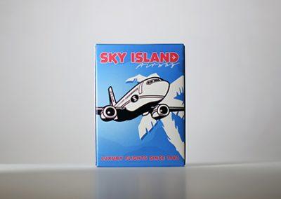 Sky Island Blue